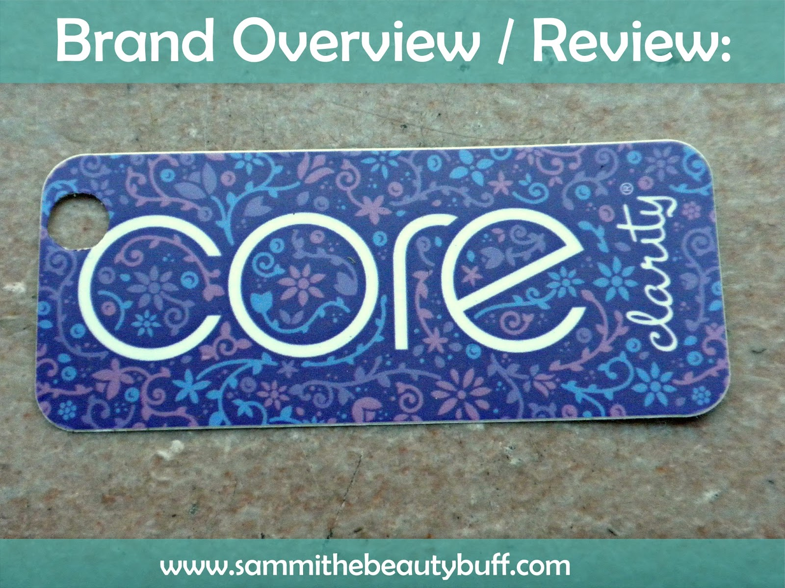 Brand Overview & Review: Core Clarity Skincare