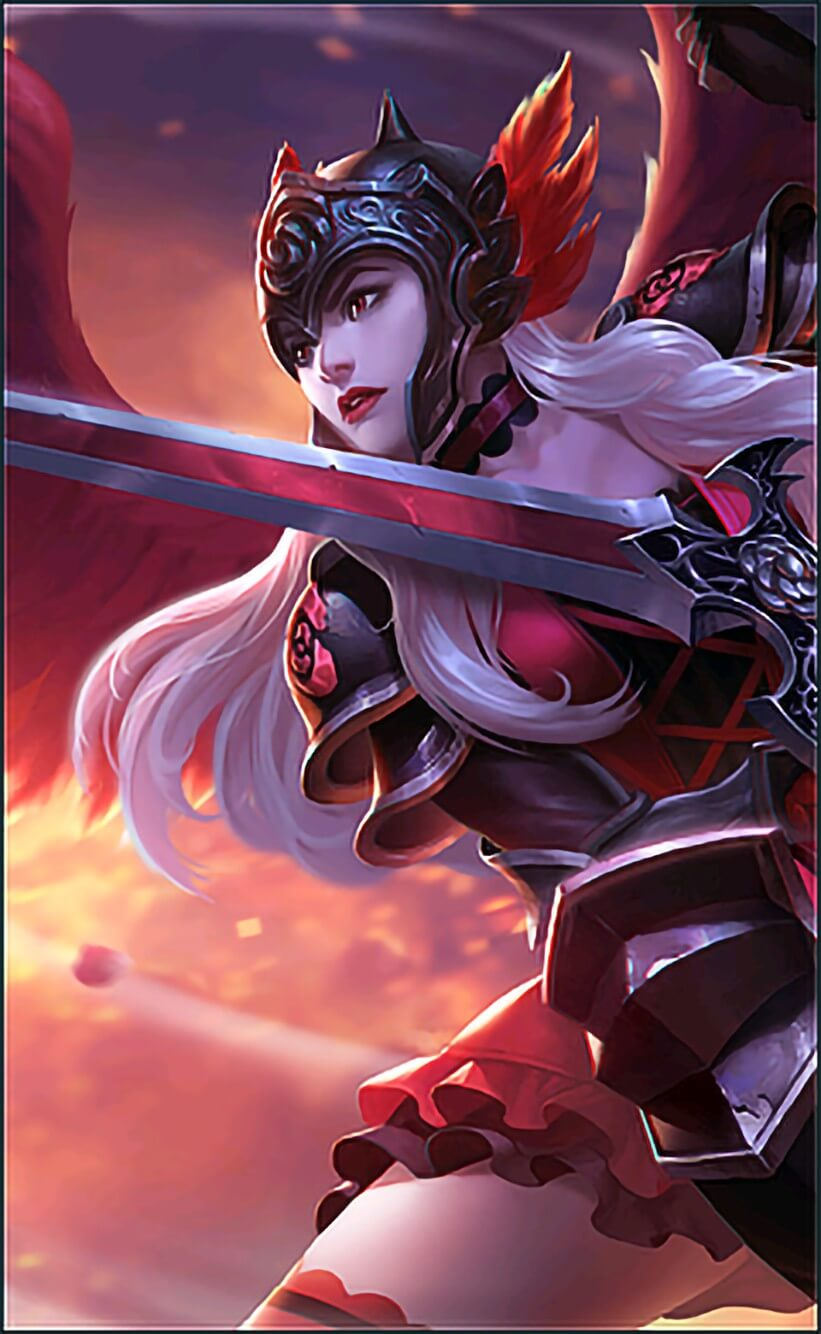 Wallpaper Freya Dark Rose Full HD for Android and iOS