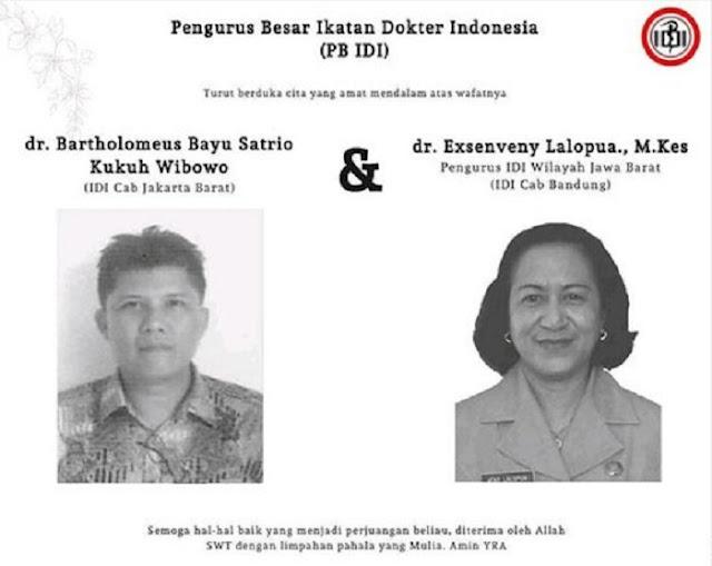 Bertambah Lagi, Dua Dokter Indonesia Meninggal karena Virus Corona