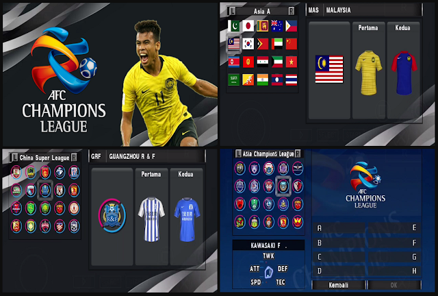 Download PES 2020 PPSSPP JOGRESS V3.5 FULL ASIA V4.1.2 BETA