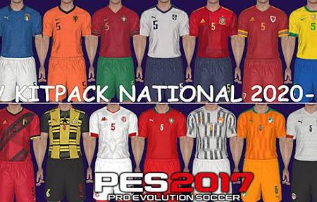 PES 2017 Kitpack National Teams 2020/2021 V2 AIO