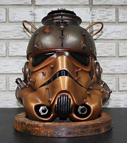 Steampunk Inspired Star Wars Helmet