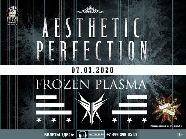 Aesthetic Perfection и Frozen Plasma в клубе Rock House