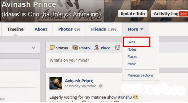 How To Hide Likes On Facebook