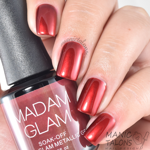 Madam Glam Metallic Gel Get To The Point Swatch