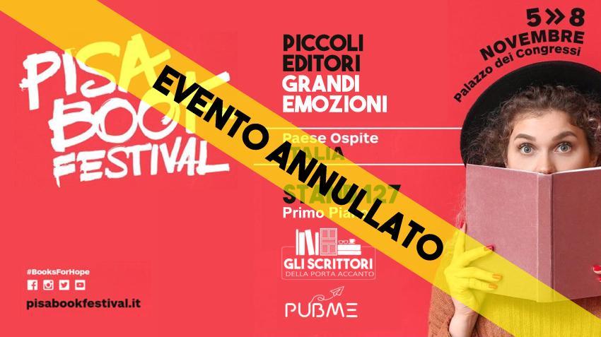 Gli Scrittori della Porta Accanto al Pisa Book Festival 2020 – Aggiornamento
