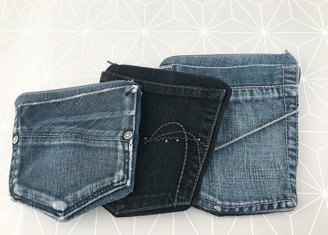 mit Strich und Faden: Täschchen aus Jeans