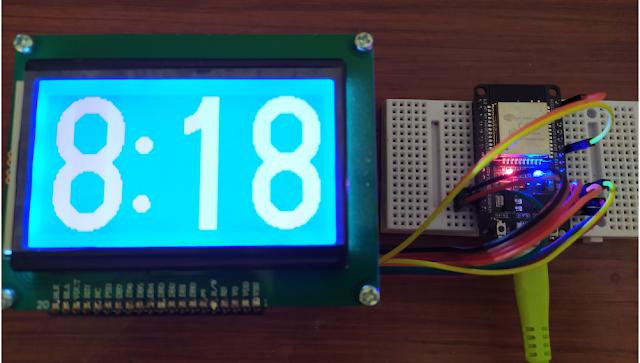 ESP32 LCD 128x64 (ST7920)