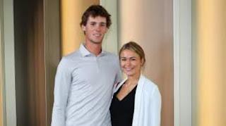 Thomas With His Girlfriend Eva