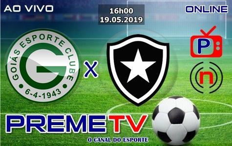 Goiás x Botafogo-RJ Ao Vivo