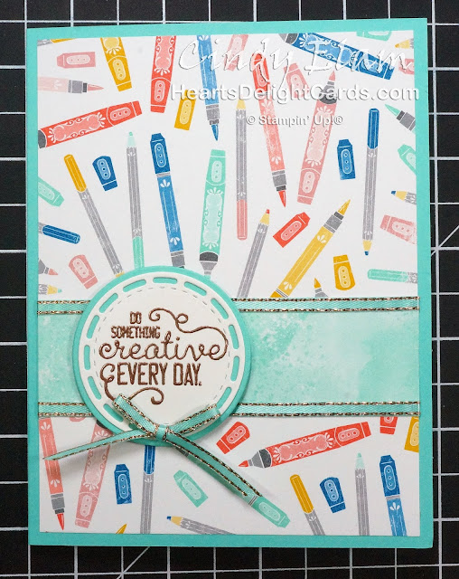Heart's Delight Cards, Crafting Forever, Join My Team, Happy Mail, Stampin' Up!