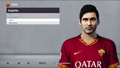 PES 2020 Faces Paulo Fonseca by Andò12345