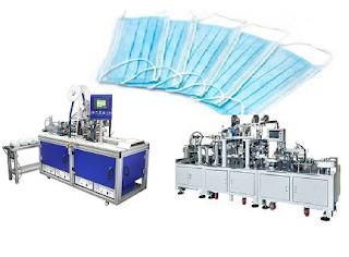 سعر ماكينة تصنيع الكمامات الطبية 2020 ومواصفات وقدرة انتاجية للقناع الطبي
