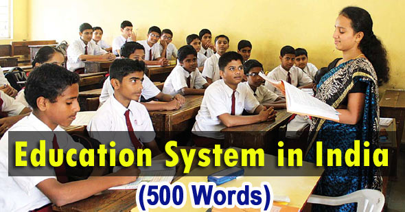 education system in india essay
