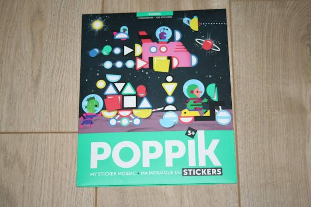 Activité manuelle : les stickers Poppik !
