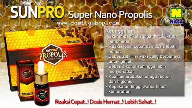 khasiat sunpro propolis nasa