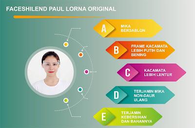 Face Shield Paul Lorna