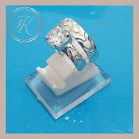 CINCIN KAWIN - WEDDING RING  - CINCIN COUPLE PERAK 925