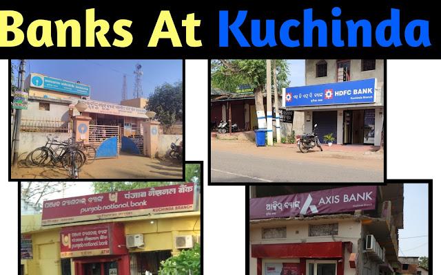 Kuchinda town ki Banks