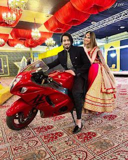 jannat zubair engagement photos