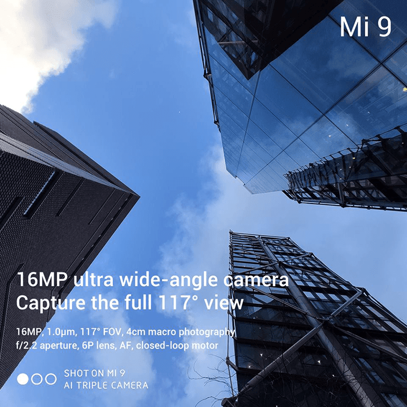 16MP ultra wide-angle lens