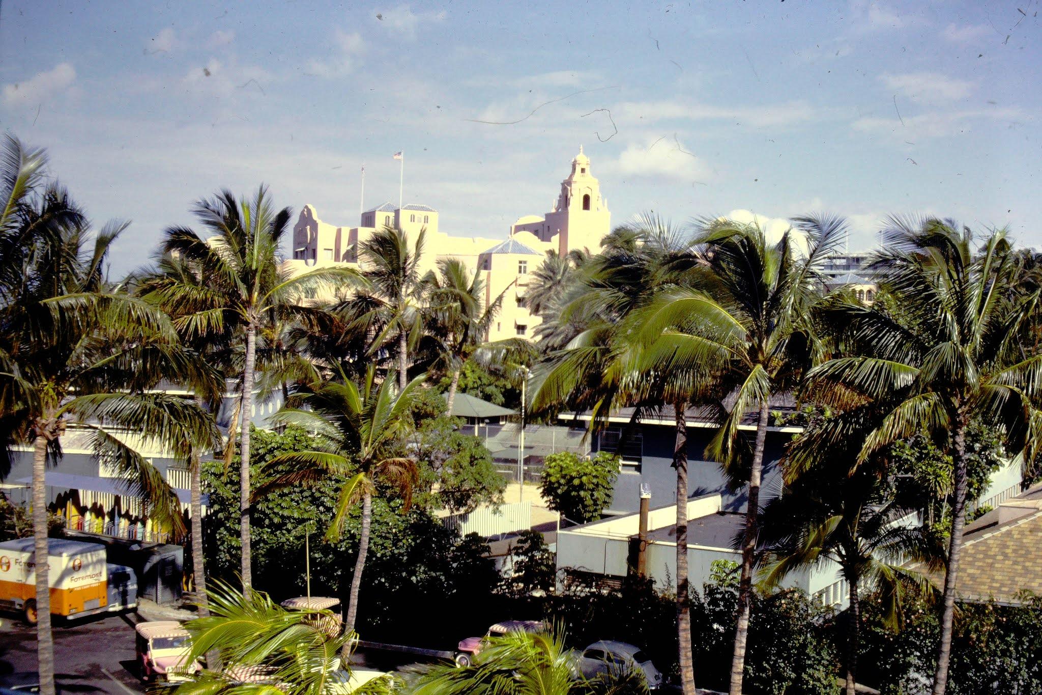 Royal Hawaiian Hotel - 1961