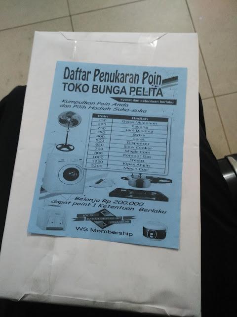 Brosur Daftar Penukaran Poin dan Grand Prize