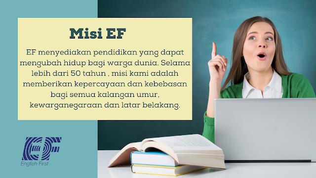 Cara mendaftar EF adults kursus bahasa Inggris profesional