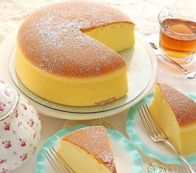 Resepi Cheese Cake Jepun