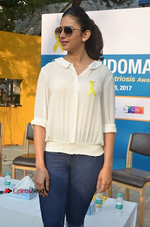 Actress Rakul Preet Singh at Endometriosis Awareness Walk at Apollo Cradle  0019.jpg