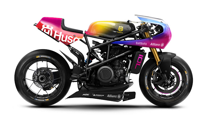 Husqvarna Vitpilen 701 Endurance Bike Concept by Barbara Custom Motorcycles