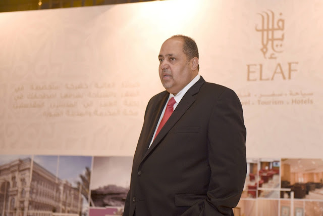 Ziyad Bin Mahfouz, CEO of Elaf Group during the marketing tour last year in Cairo.
