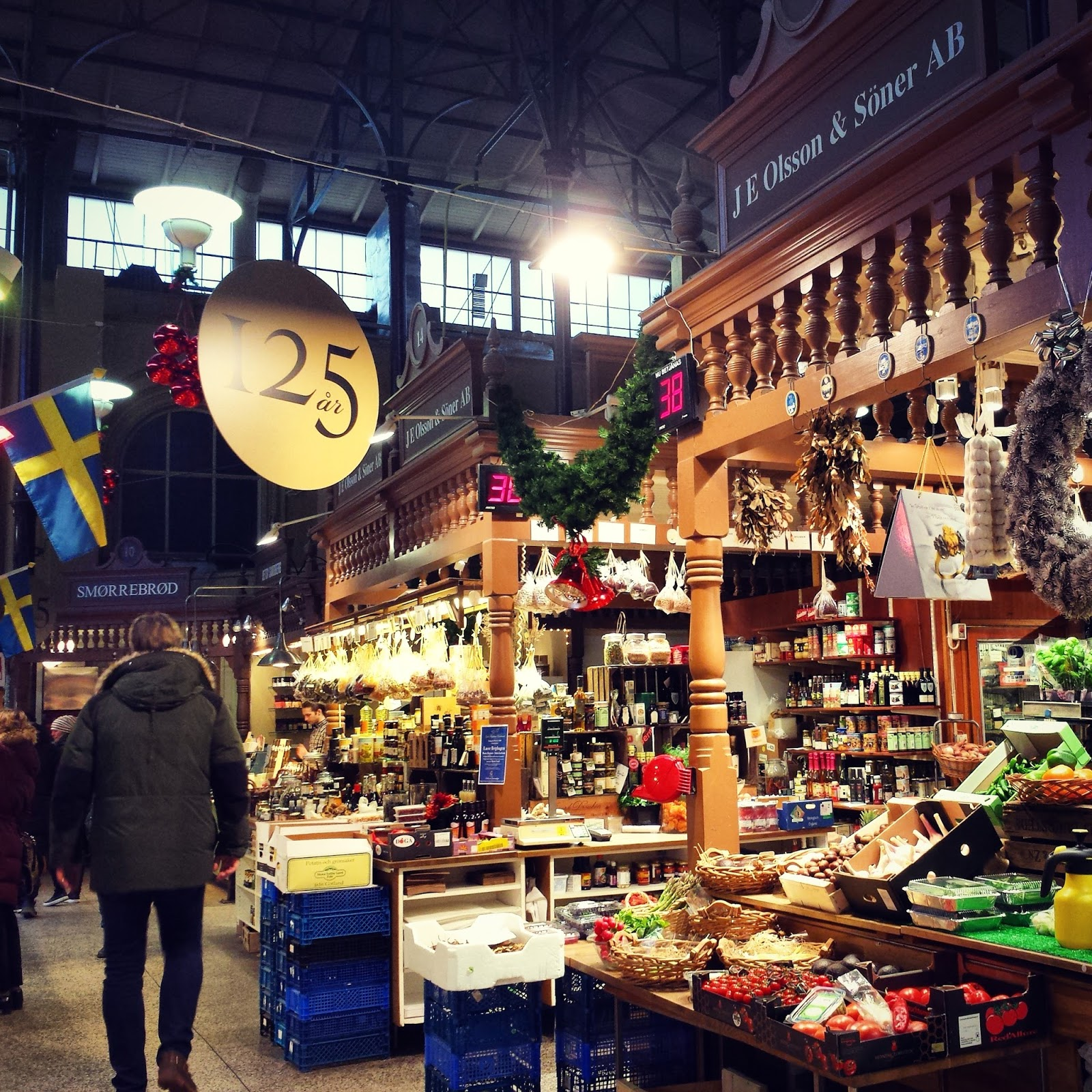 Smørrebrød at Östermlams Saluhall in Stockholm, Sweden  |  The gift of a day together in Östermalm on afeathery*nest  |  http://afeatherynest.com