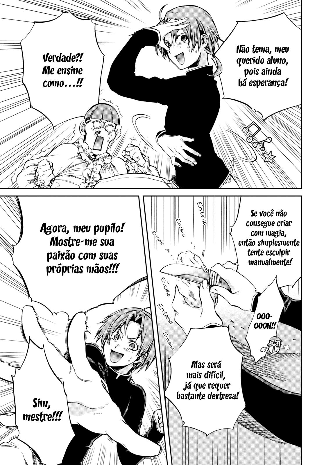 Mushoku Tensei: Isekai Ittara Honki Dasu / Mushoku Tensei: Jobless Reincarnation Mangá Online Capítulo 57