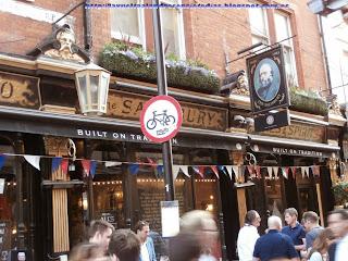 Típicos pubs ingleses cercanos a Covent Garden