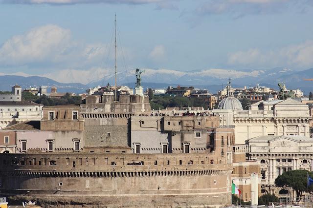 Castillo de Sant´Angelo desde el CIAM