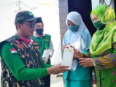 200 Juta Lebih Distribusi Bantuan Covid NU Kota Pasuruan Bagi Warga Kota Pasuruan