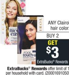 Clairol Nice'n Easy Hair Color