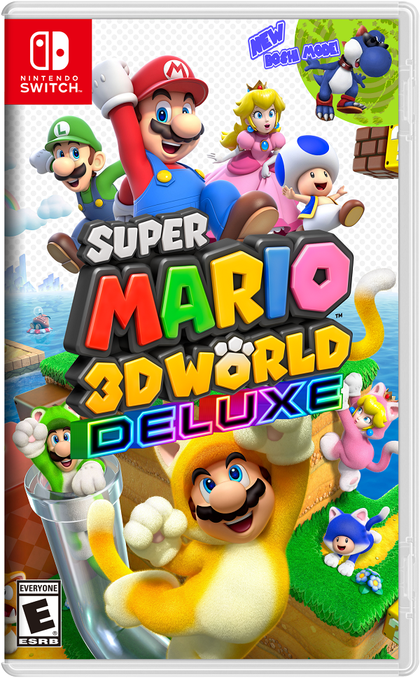 Super Mario 3D World Deluxe Game Cover
