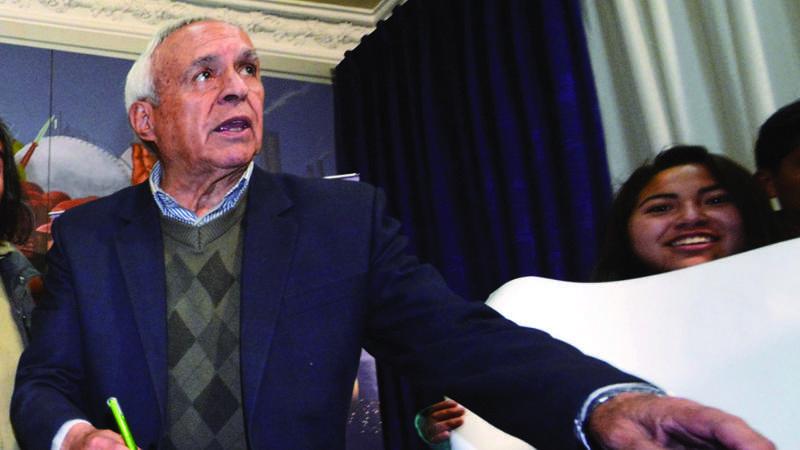 David Santalla padece una enfermedad terminal, requiere quimioterapias / ARCHIVO PÁGINA SIETE