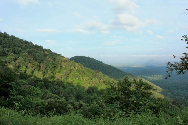 Forested hills near K.Gudi, BRT tiger reserve, Karnataka