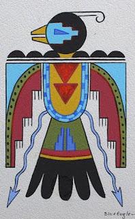 Acee Blue Eagle Artwork