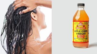 Apple cider vinegar uses for hair