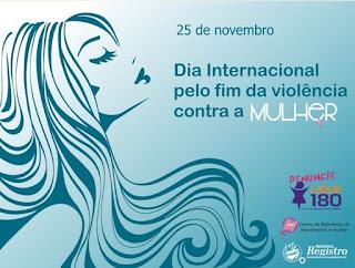 CRAM de Registro-SP promove atividades alusivas ao Dia Internacional pelo fim da violência contra a Mulher