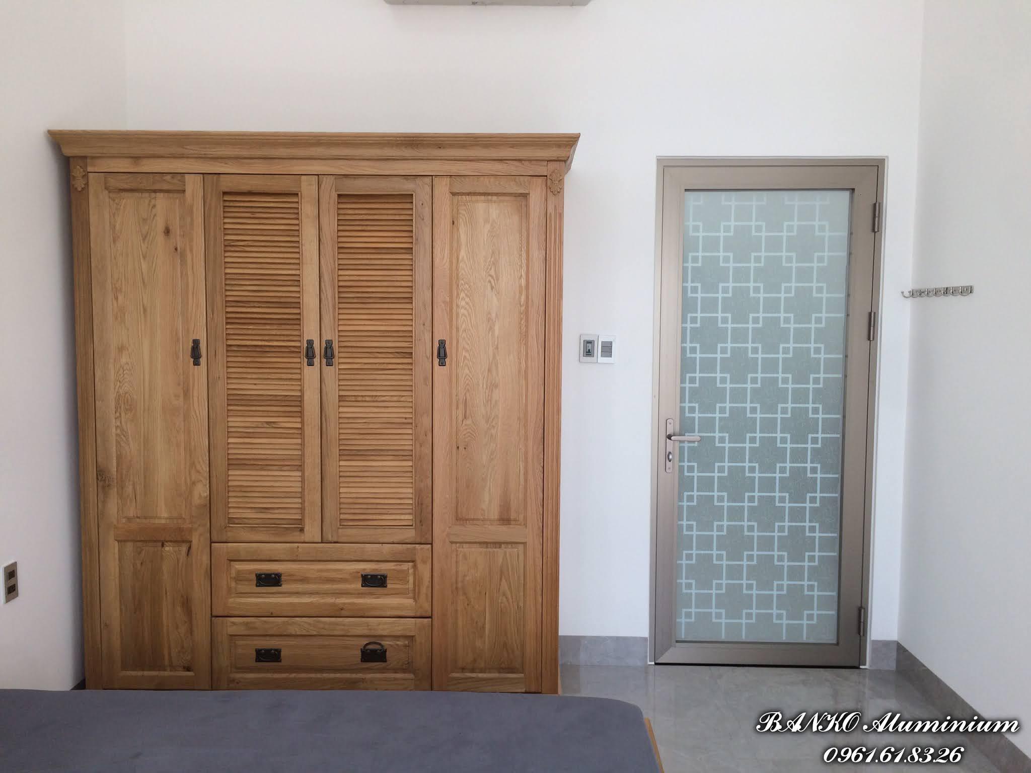 Cửa phòng ngủ nhôm Hondalex