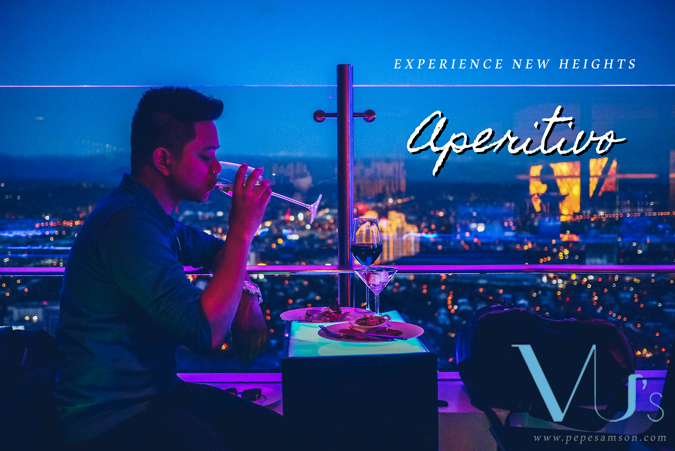 New Heights with VU's Sky Bar and Lounge's Aperitivo