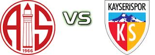 Antalyaspor - KayserisporCanli Maç İzle 19 Ocak 2019