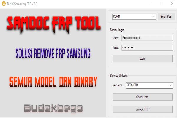 SAMDOC FRP Tool, Solusi Remove FRP Samsung Semua Model dan Binary