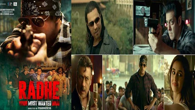 """Salman khan new Movie """"Radhe"""" Your Most Wanted Bhai trailer review"""