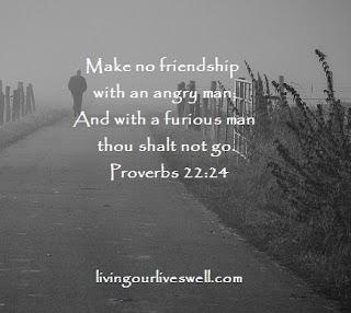 Proverbs 22:24